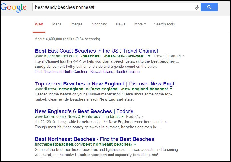 Organic Search-how it works